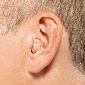Modelo de aparelho auditivo Intra-canal (ITC)